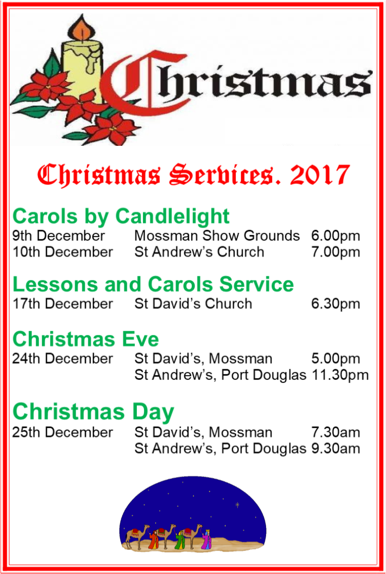 Christmas Services 2017